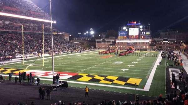 Maryland Stadium, secção: 17, fila: DD, lugar: 20