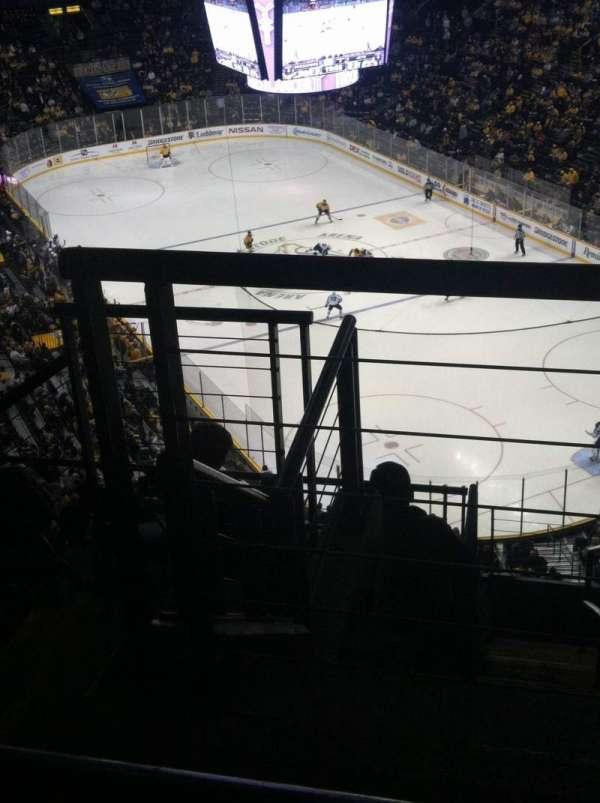 Bridgestone Arena, secção: 331, fila: J, lugar: 1