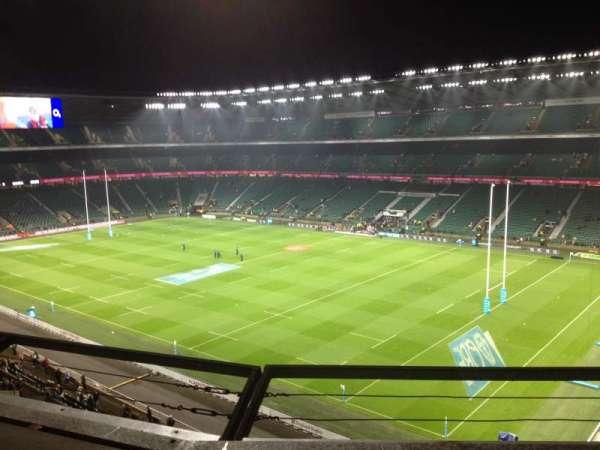 Twickenham Stadium, secção: U27, fila: B, lugar: 68