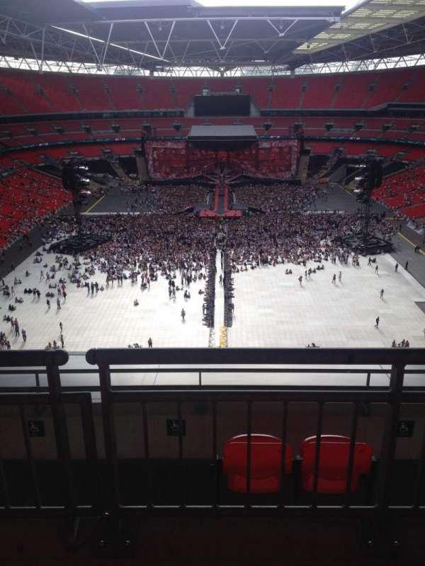 Wembley Stadium, secção: 514, fila: 16, lugar: 2