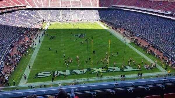 Nrg Stadium, secção: 548, fila: D, lugar: 12