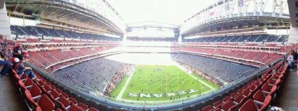 Nrg Stadium, secção: 548, fila: D, lugar: 11