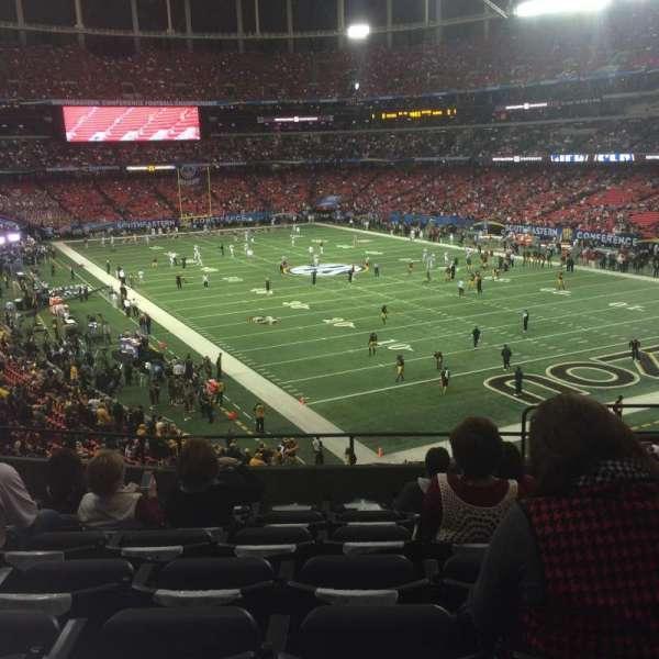 Georgia Dome, secção: 239, fila: 7, lugar: 13