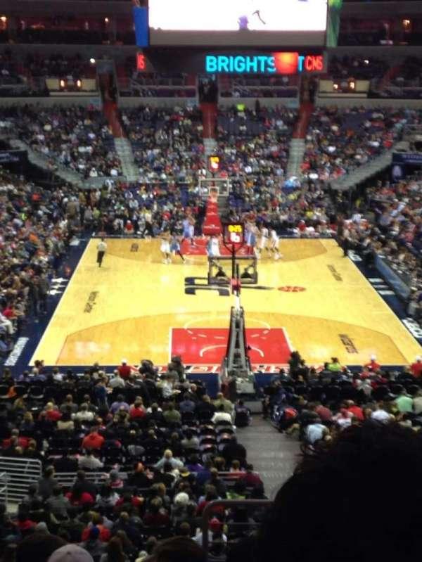 Capital One Arena, secção: 222, fila: J, lugar: 14