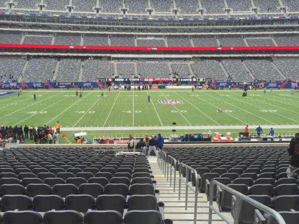 MetLife Stadium, secção: 140, fila: 29, lugar: 1 and 2