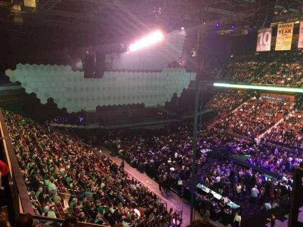 Mohegan Sun Arena, secção: 115, fila: E, lugar: 1