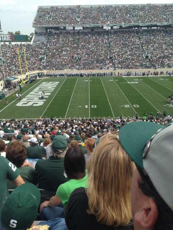 Spartan Stadium, secção: 26, fila: 46