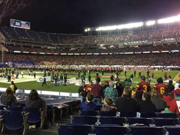 San Diego Stadium, secção: F11, fila: 13, lugar: 2