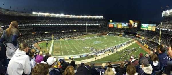 Yankee Stadium, secção: 312, fila: 5, lugar: 17