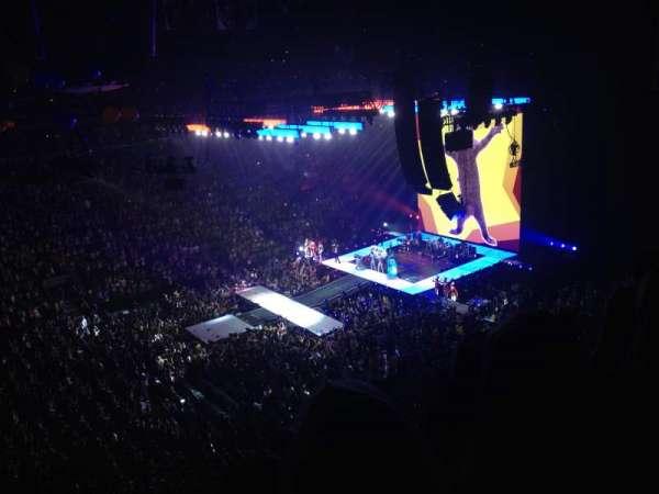 Scotiabank Arena, secção: 322, fila: 4, lugar: 6