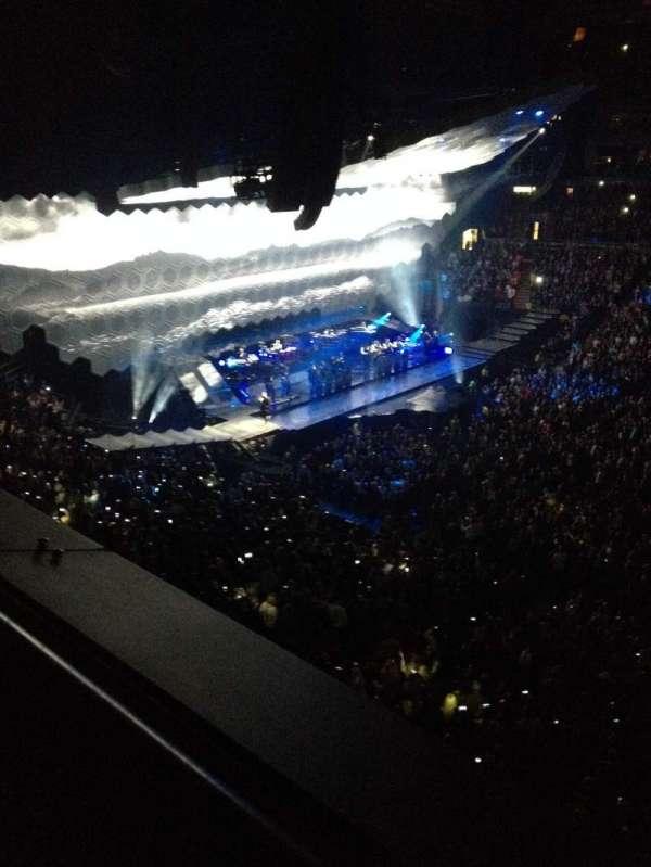 Scotiabank Arena, secção: 309, fila: 1, lugar: 6
