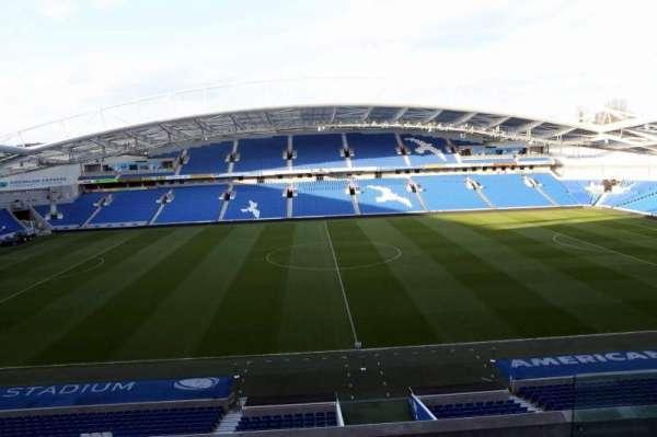 American Express Community Stadium, secção: W2D, fila: C