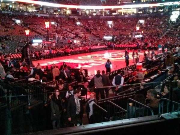 Scotiabank Arena, secção: 122, fila: 9, lugar: 7