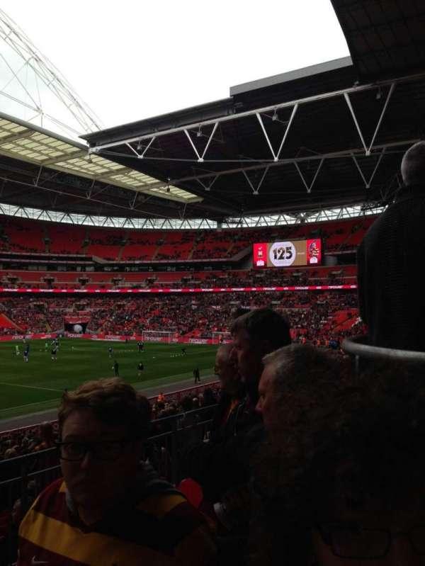 Wembley Stadium, secção: 230, fila: 50, lugar: 222