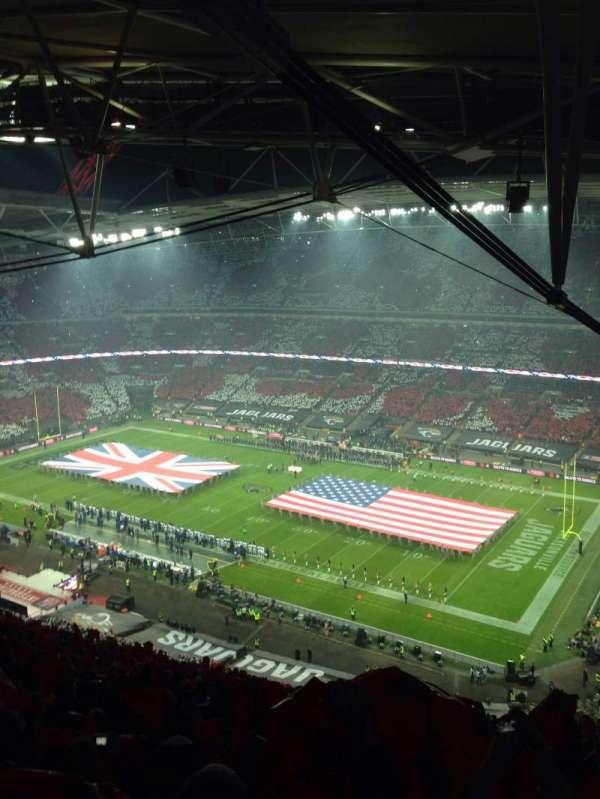 Wembley Stadium, secção: 522, fila: 35