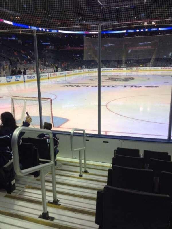 Nationwide Arena, secção: 119, fila: F, lugar: 11-12