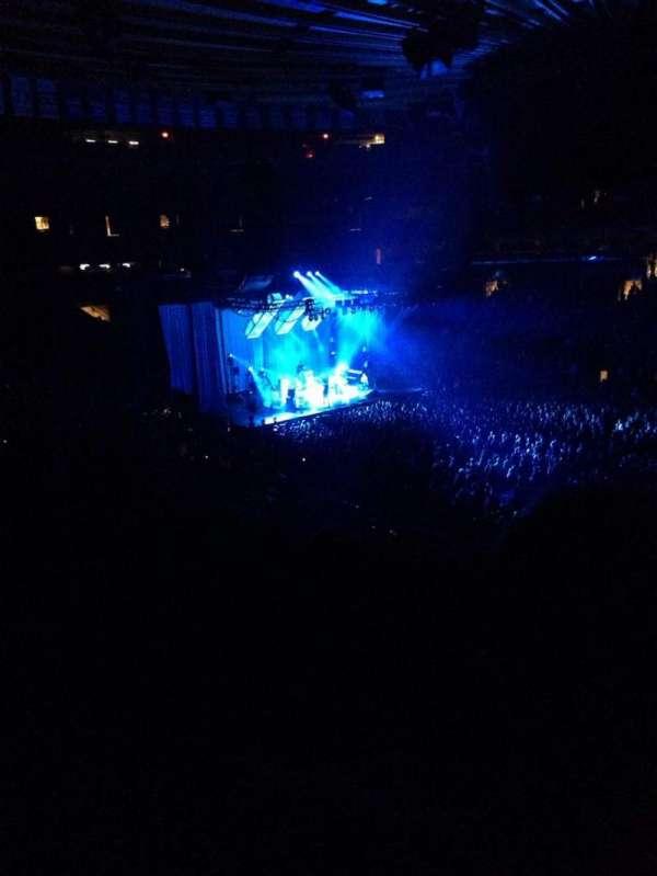 Madison Square Garden, secção: 226, fila: 3, lugar: 9