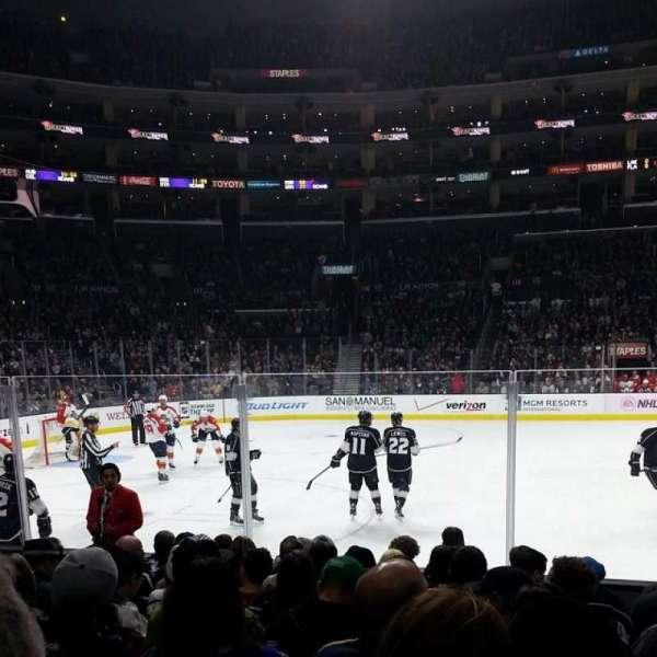 Staples Center, secção: 112, fila: 9, lugar: 15