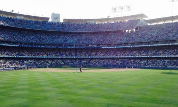 Dodger Stadium, secção: Right Field Pavillion