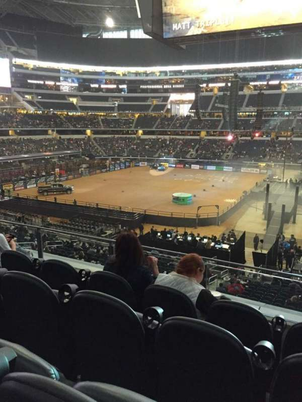 AT&T Stadium, secção: C209, fila: 4, lugar: 11