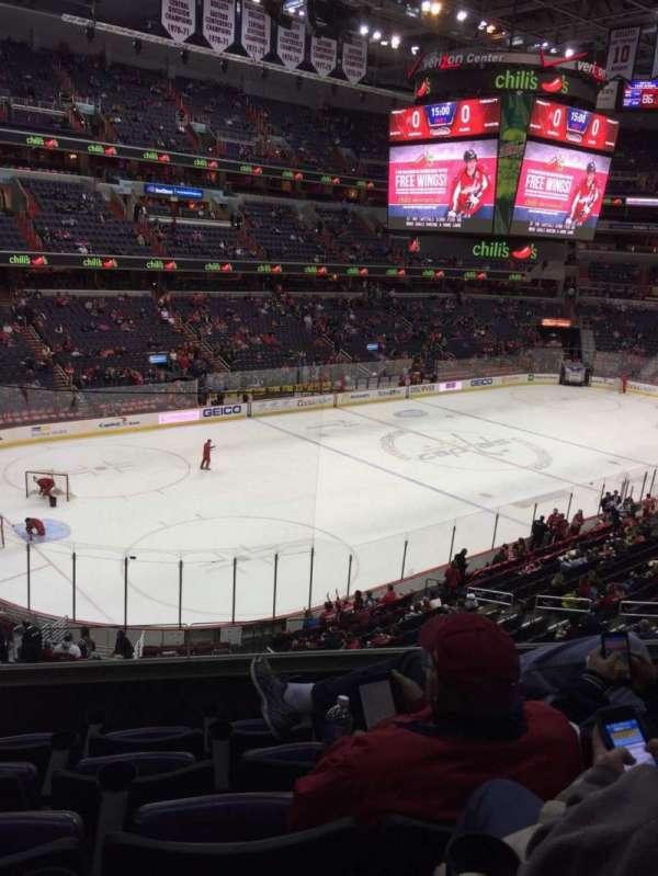 Capital One Arena, secção: 212, fila: E, lugar: 4