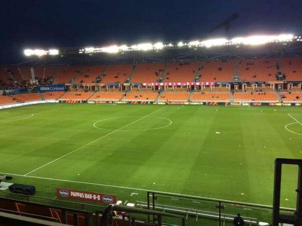 BBVA Stadium, secção: 205, fila: F, lugar: 1