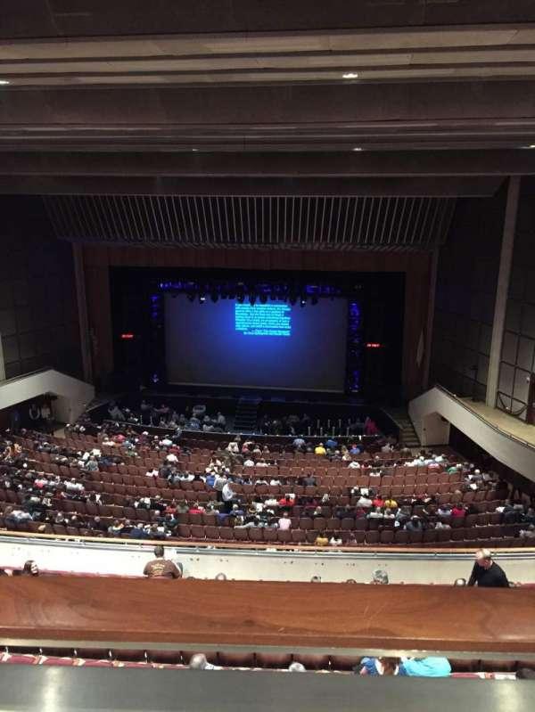Miller Auditorium, secção: Balcony, fila: 10, lugar: 31