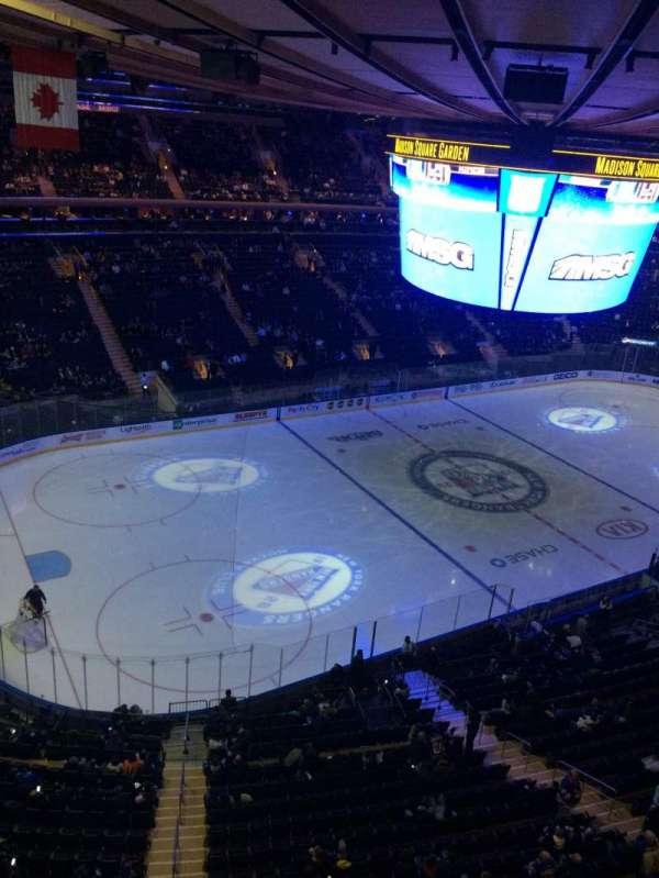 Madison Square Garden  , secção: 310, fila: 1, lugar: 9