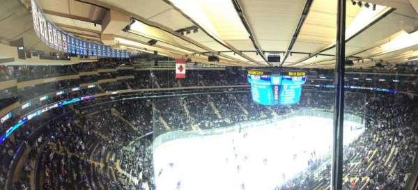 Madison Square Garden, secção: 310, fila: 1, lugar: 9