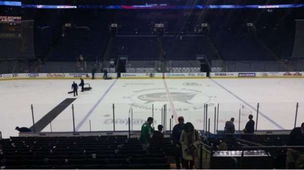 Nationwide Arena, secção: 115, fila: U, lugar: 3