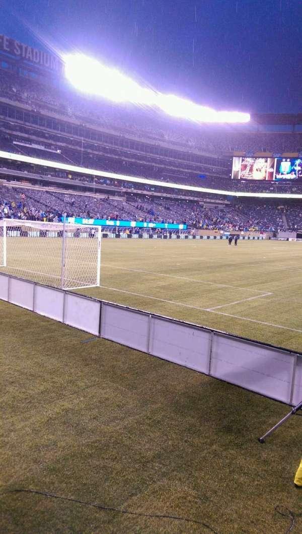MetLife Stadium, secção: 149, fila: 11, lugar: 1