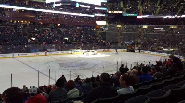 Nationwide Arena, secção: 105, fila: V, lugar: 14
