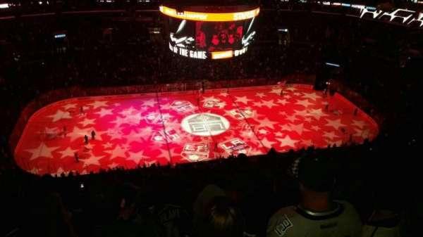 Staples Center, secção: 302, fila: 15, lugar: 12