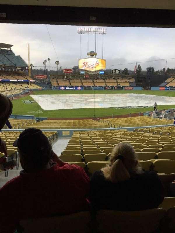 Dodger Stadium, secção: 8FD, fila: W, lugar: 1