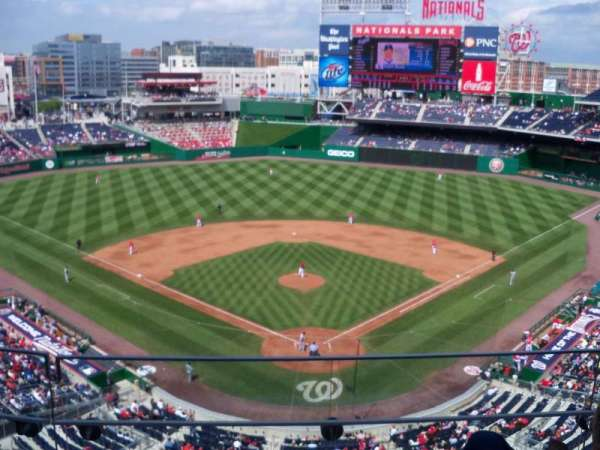 Nationals Park, secção: 314, fila: E, lugar: 10
