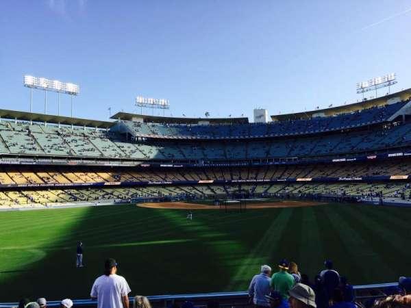 Dodger Stadium, secção: 313PL, fila: L, lugar: 7