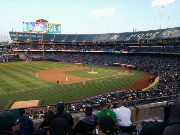 Oakland Coliseum, secção: 226, fila: 6, lugar: 9