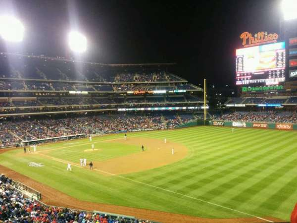 Citizens Bank Park, secção: 209, fila: 3, lugar: 13