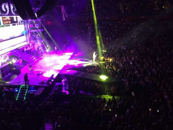 Mohegan Sun Arena, secção: 118, fila: A, lugar: 14