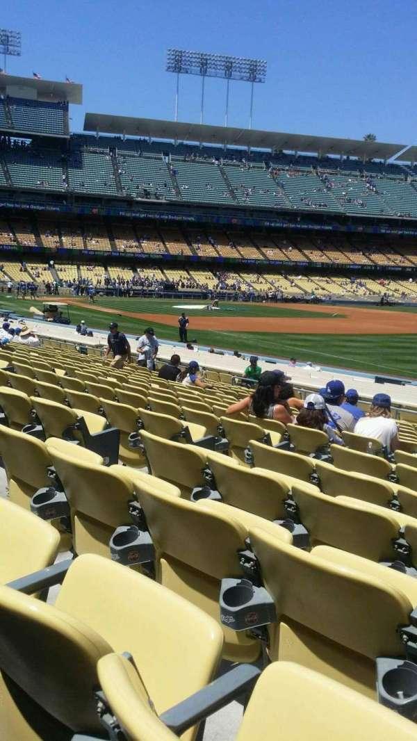Dodger Stadium, secção: 42FD, fila: p, lugar: 6
