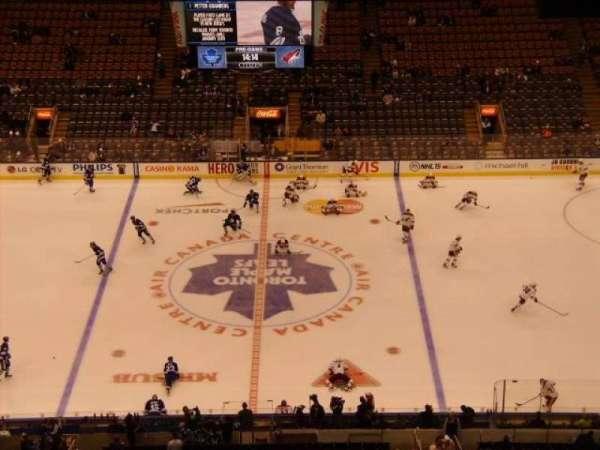 Scotiabank Arena, secção: 321, fila: 19, lugar: 9