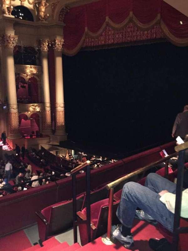 Academy of Music, secção: Balcony C, fila: B, lugar: 34