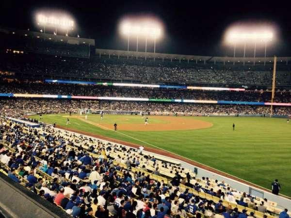 Dodger Stadium, secção: 160LG, fila: A, lugar: 1