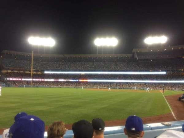 Dodger Stadium, secção: 51FD, fila: C, lugar: 3