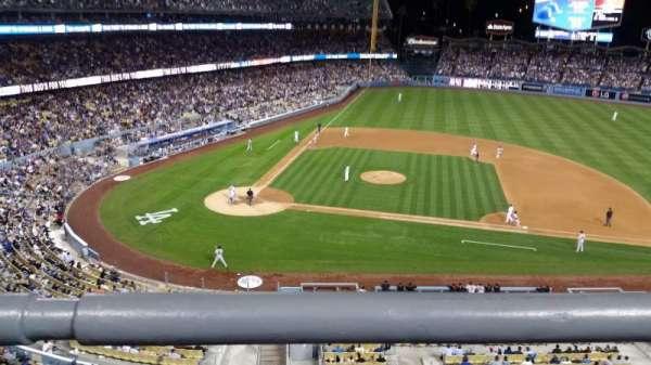 Dodger Stadium, secção: preferred reserve mvp 16, fila: A, lugar: 1