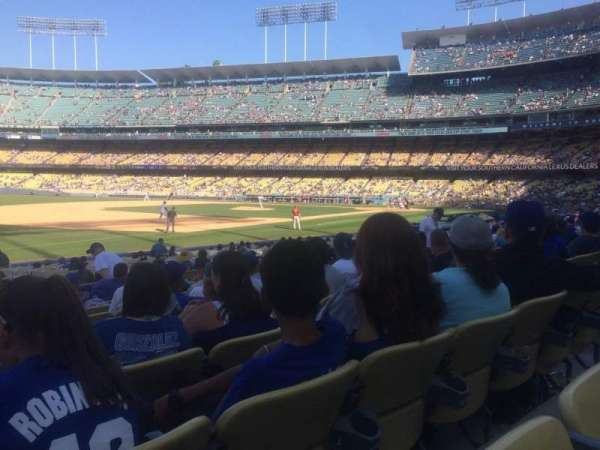 Dodger Stadium, secção: 35FD, fila: N, lugar: 8