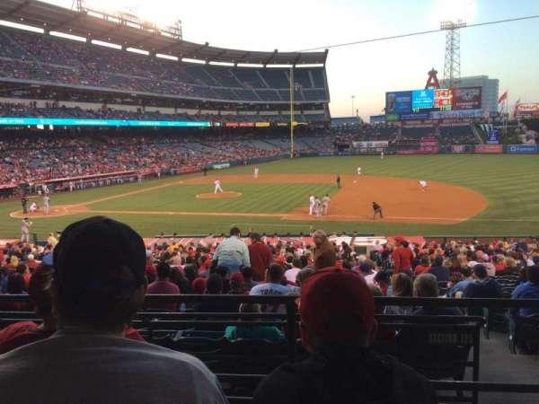 Angel Stadium, secção: 224, fila: C, lugar: 8
