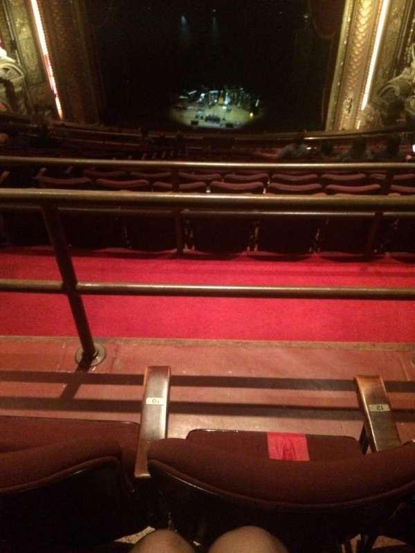 Wang Theatre, secção: BALCRC, fila: U, lugar: 10