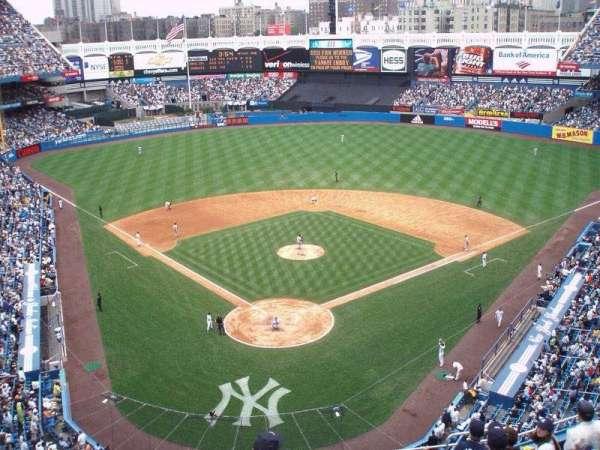 Yankee Stadium, secção: 420a, fila: 10, lugar: 1