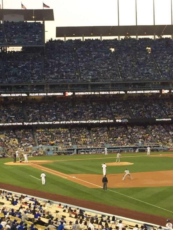 Dodger Stadium, secção: 160LG, fila: E, lugar: 5